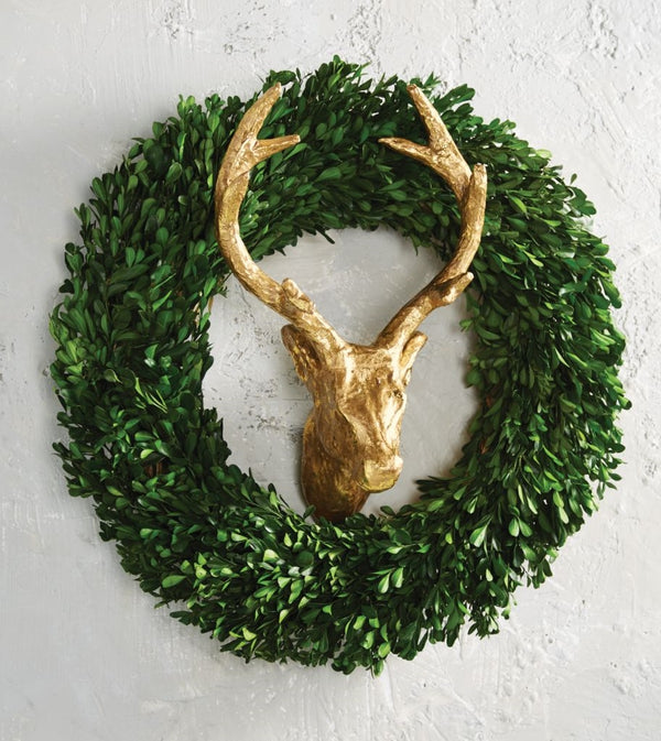 Deer Wreath Decor