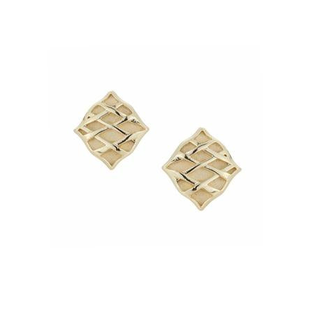 Southern Charm Stud Earrings in Gold