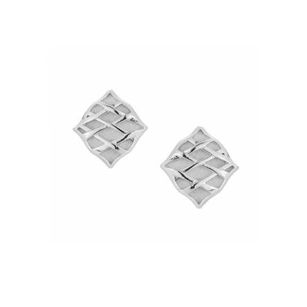 Southern Charm Stud Earrings in Silver