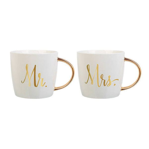 Mr & Mrs Coffee Mug Set