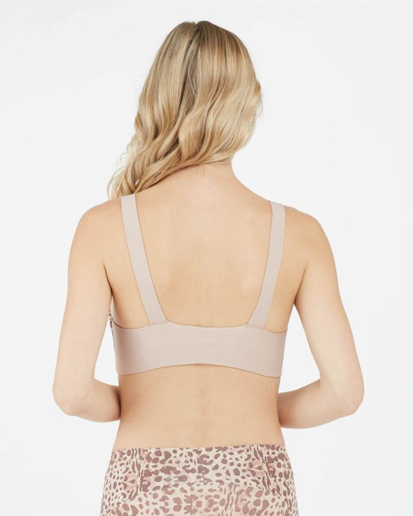 Unlined Bralette, Animal