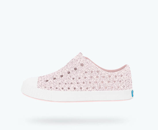 Jefferson Bling Child - Milk Pink Bling/ Shell White