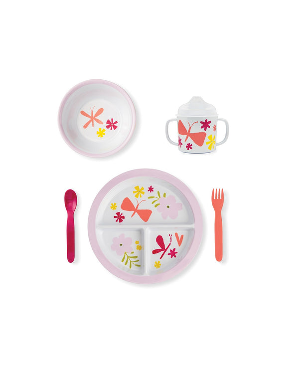 Baby Girl Melamine Dining Set