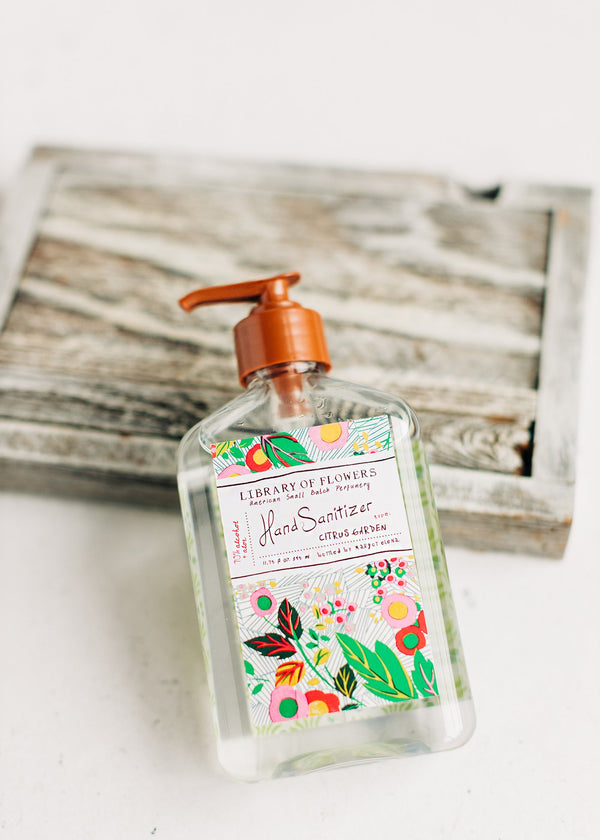 Citrus Garden Hand Sanitizer Gel