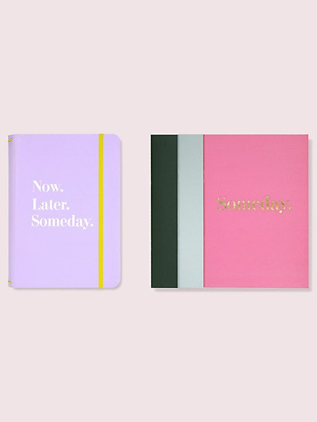 Notebook Folio Set - Now, Later, Someday