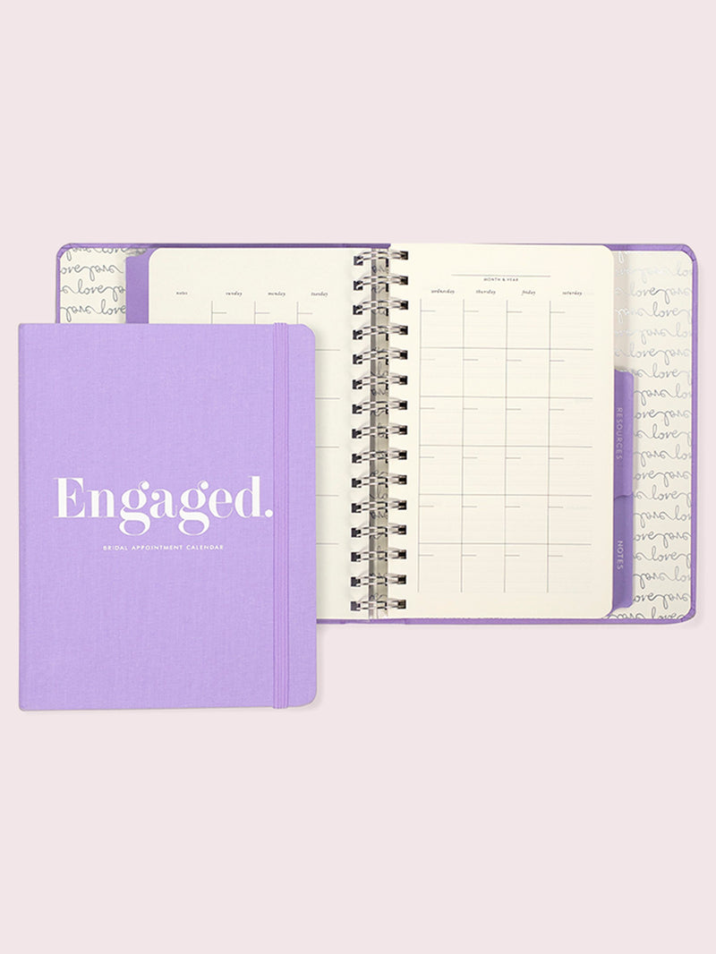 Engaged Bridal Appointment Calendar