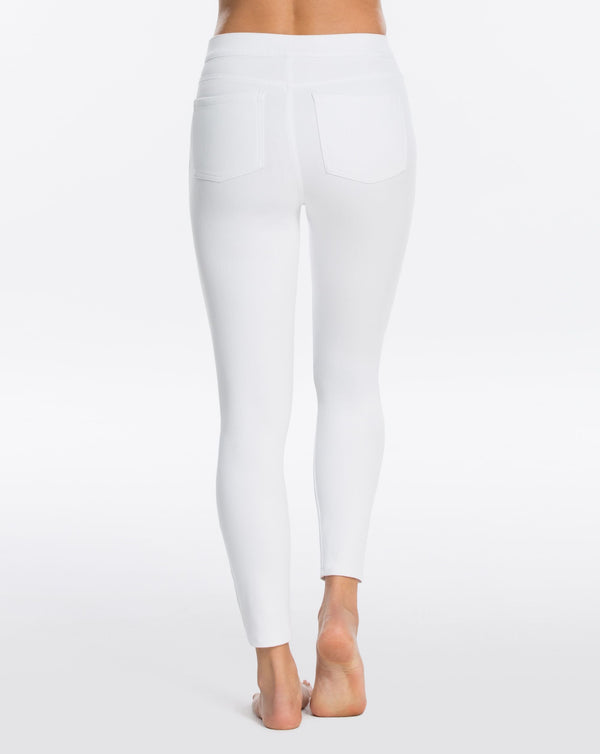 SPANX Jean-ish Ankle Leggings - White