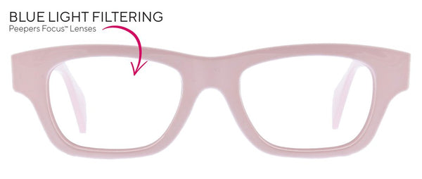 Peepers Scandi, Pink (Blue Light)