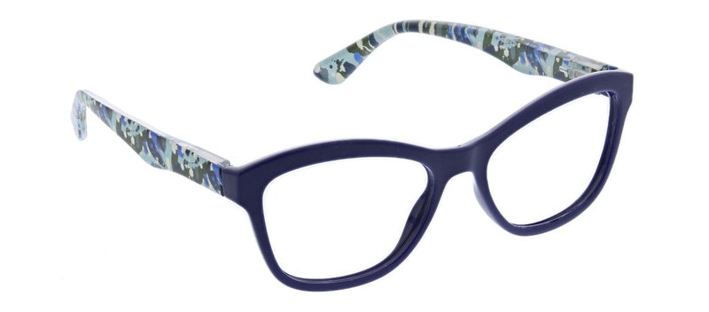 Peepers Brushwork, Navy (Blue Light)