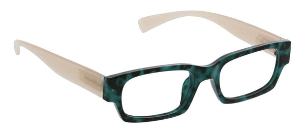 Ivy, Green Tortoise/Tan (Blue Light)