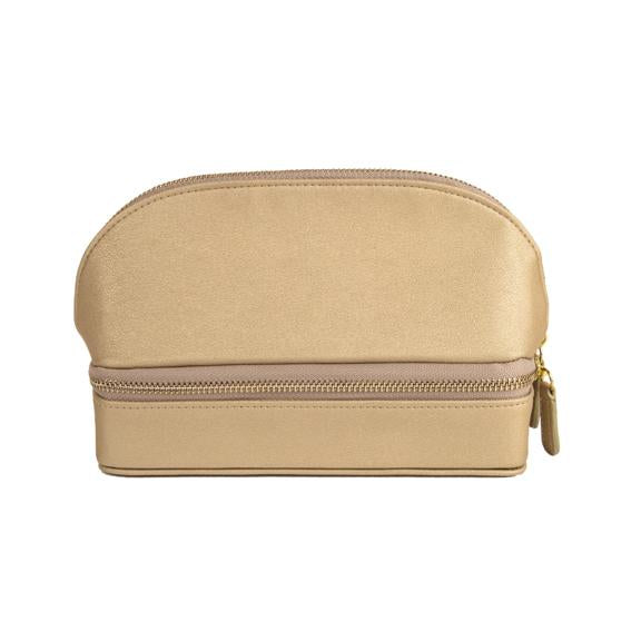 Abby Travel Organizer, Gold