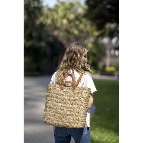 Valencia Backpack, Natural