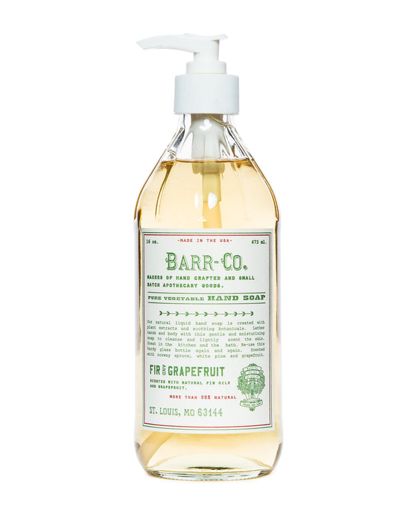 Fir & Grapefruit 16oz Hand Soap