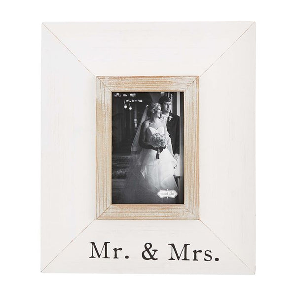 Small Mr. & Mrs. Picture Frame