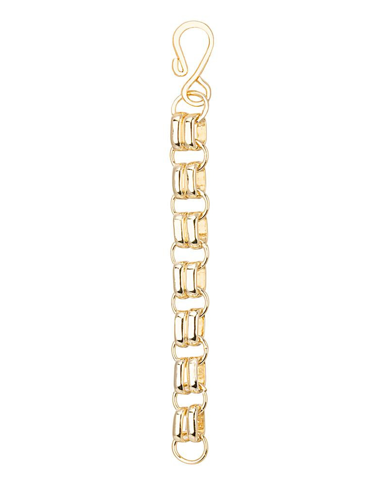 4 Inch Gold Hook Necklace Extender