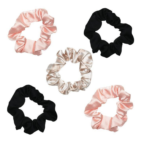 Satin Sleep Scrunchie Set - Assorted