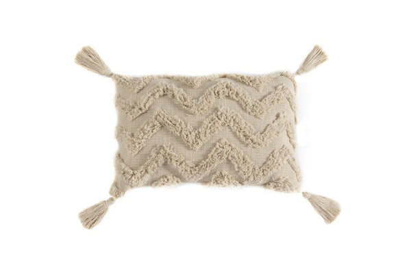Constantine Rectangle Pillow, Natural
