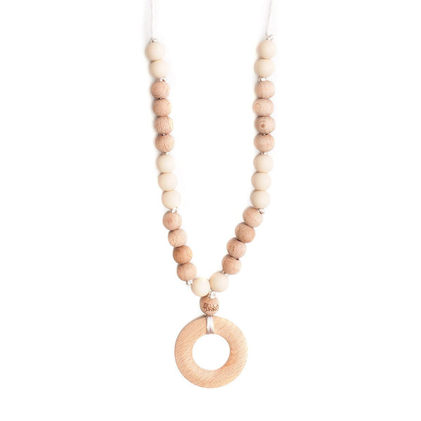 Asheville Cream Teething Necklace