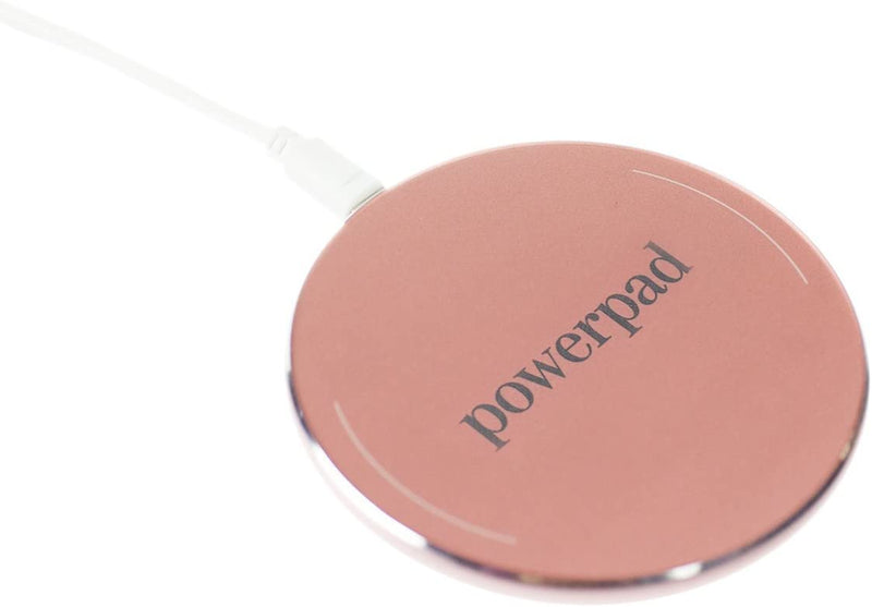 Rose Gold Power Pad Wireless Charger