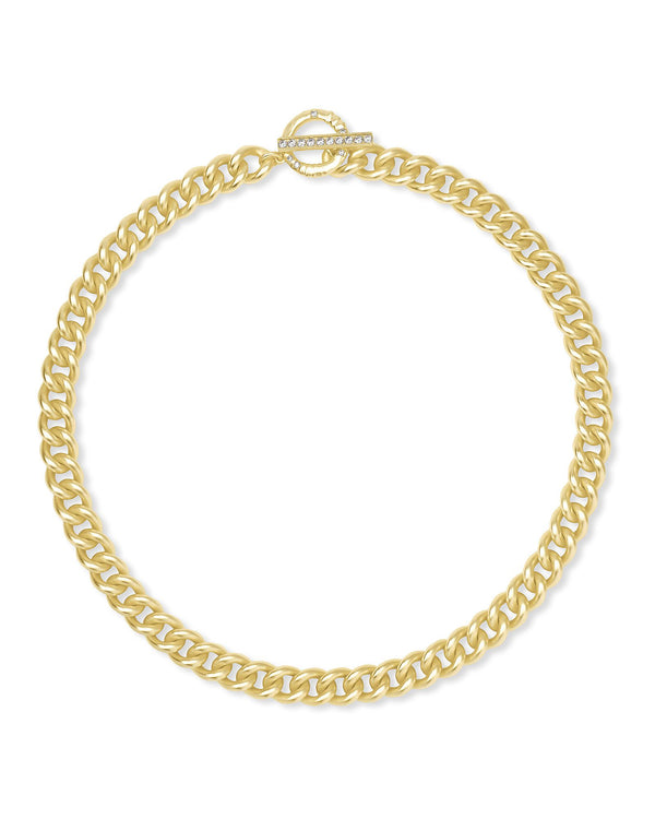 Whitley Chain Necklace, Gold