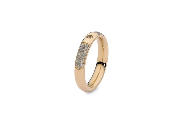 Basic Interchangeable Small Ring Deluxe, Gold
