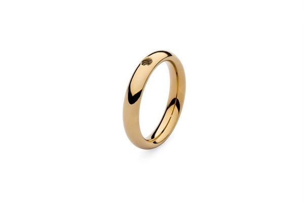 Small Basic Interchangeable Ring, Gold
