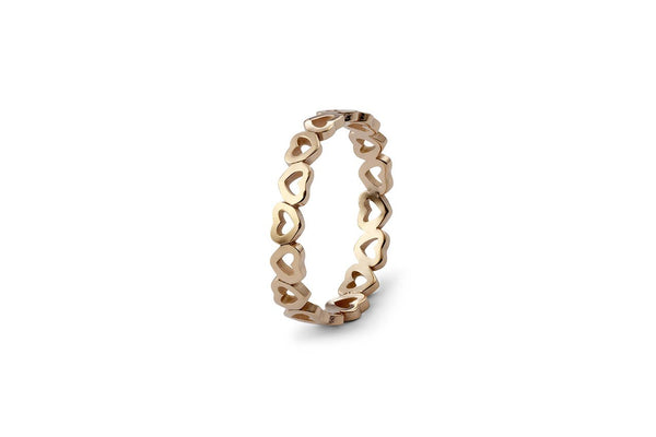 Pienza Spacer Ring, Gold
