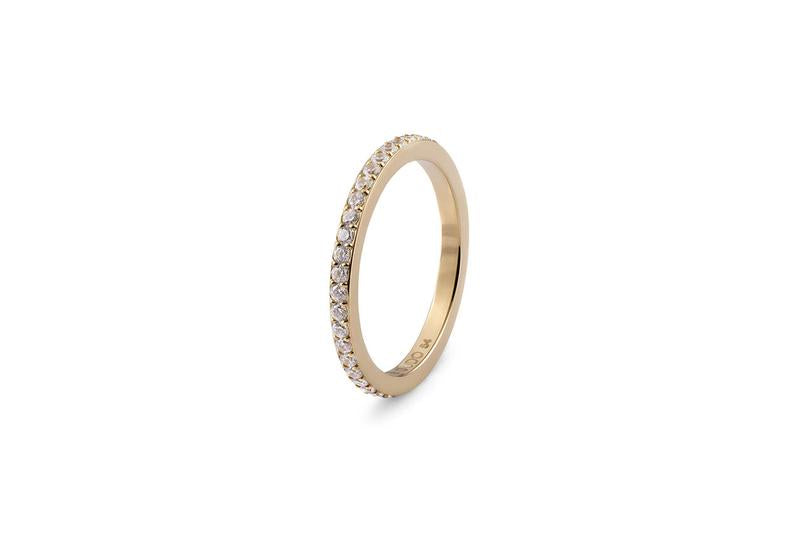 Eternity Small Spacer Ring, Gold