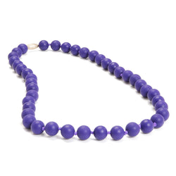Jane Teething Necklace, Purple