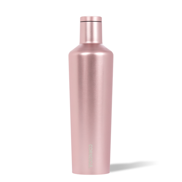 25oz Metallic Canteen, Rose