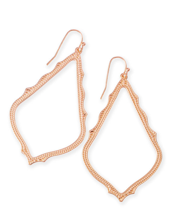 KENDRA SCOTT Sophee Earrings in Rose Gold