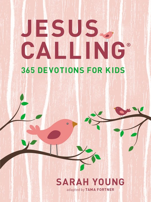 Jesus Calling - 365 Devotions for Kids, Girls Edition