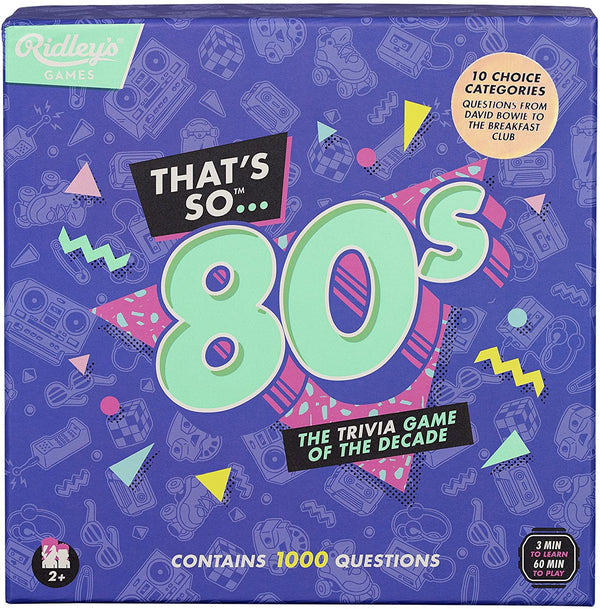 That's So 80s Trivia Game
