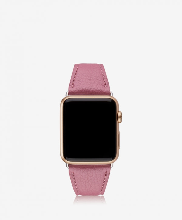 Apple Watch Band 42 MM, Rose Pebble Leather