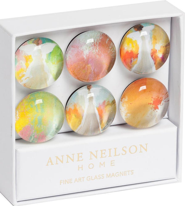 Fine Art Glass Magnets - Jubilant