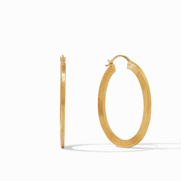 Aspen Extra Large Hoop - Gold