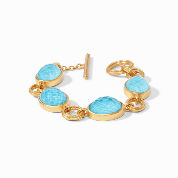 Barcelona Bracelet - Iridescent Pacific Blue