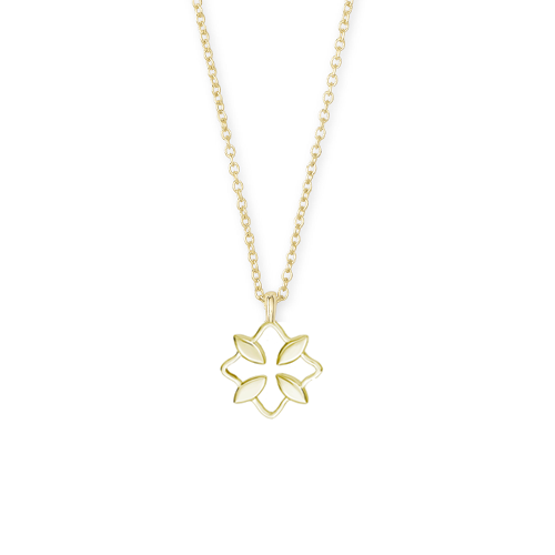 Grace Drop Necklace in Gold