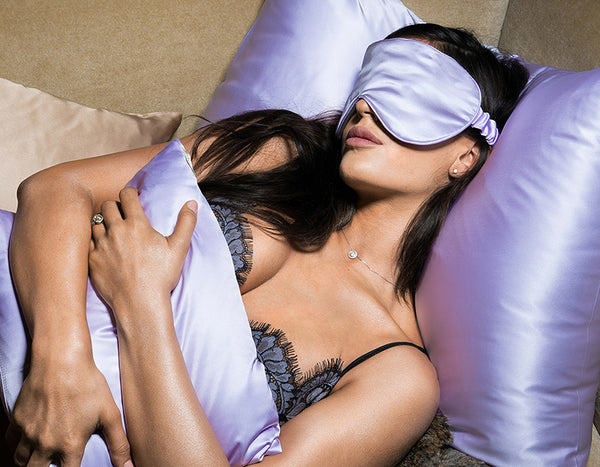 Belle De Nuit Eye Mask, Lavender