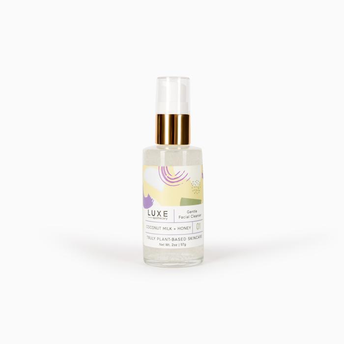 Coconut Milk + Honey Gentle Facial Cleanser
