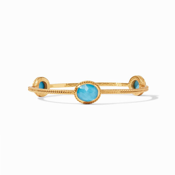 Calypso Bangle - Iridescent Pacific Blue