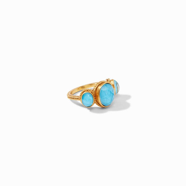Calypso Ring - Iridescent Pacific Blue