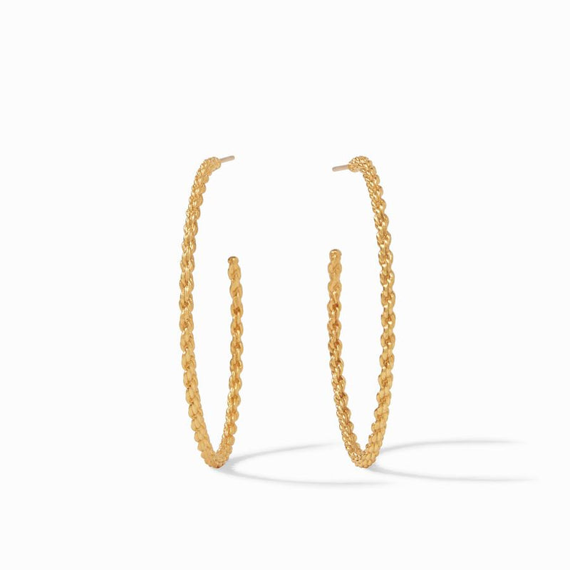 Cascade Extra Large Hoop - Gold