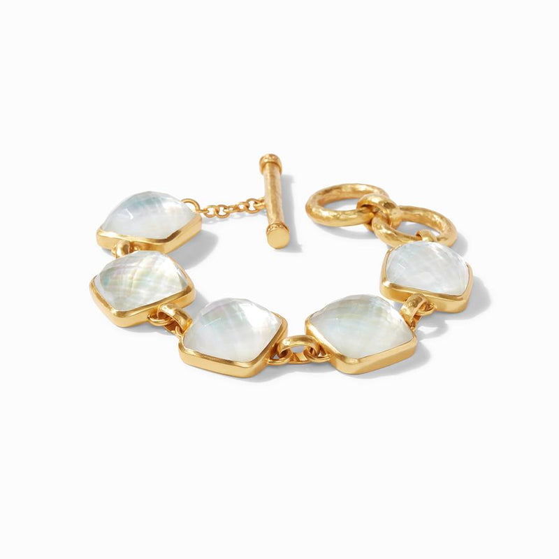 Catalina Bracelet - Iridescent Clear Crystal