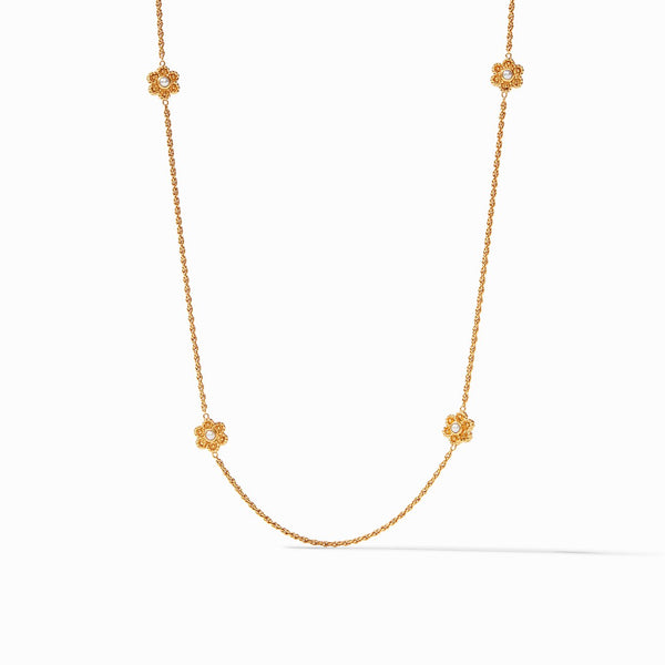 Colette Pearl Station Necklace