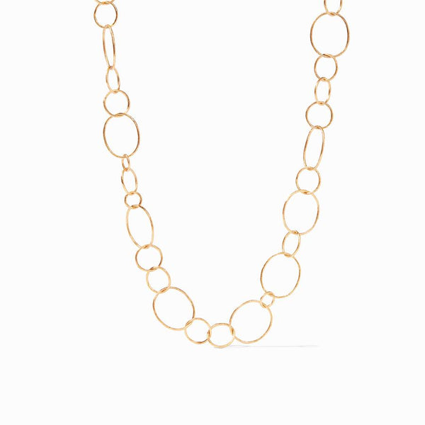Colette Chain Link Necklace - Gold