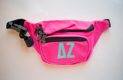 Colorful Sorority Fanny Pack