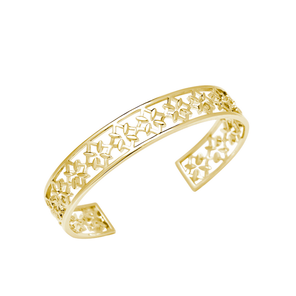 Grace Cuff Bracelet in Gold