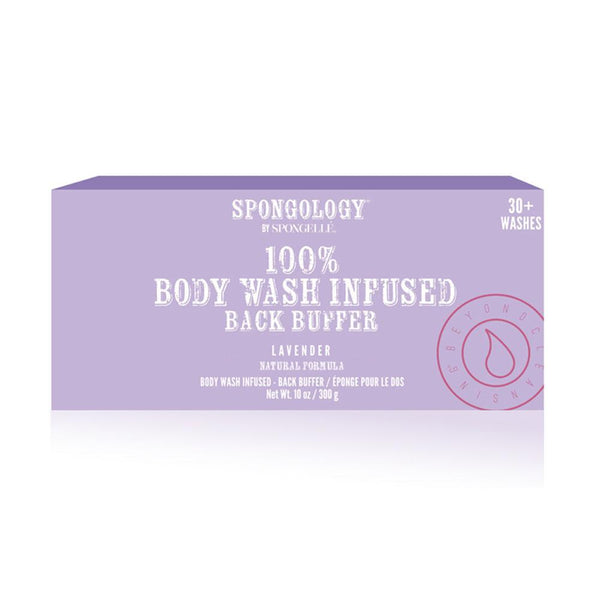 Spongology Back Buffer, Lavender