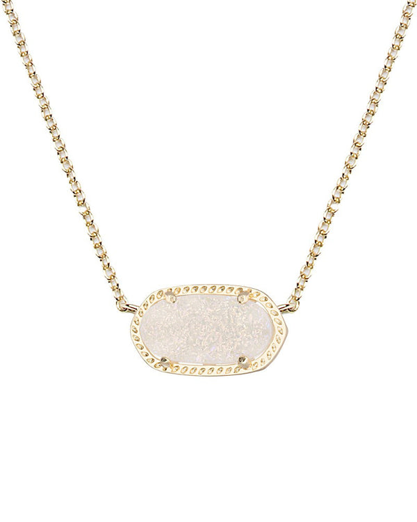 KENDRA SCOTT Elisa Necklace in Iridescent Drusy - Sabi Boutique - 1